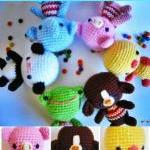 pdf little friends amigurumi croche..